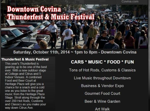 Covina Residents Thunderfest