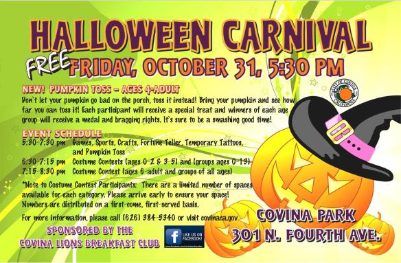 Covina Halloween Carnival